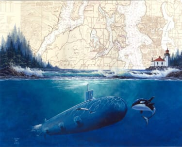 Us Navy Ships – Chart Art Prints
